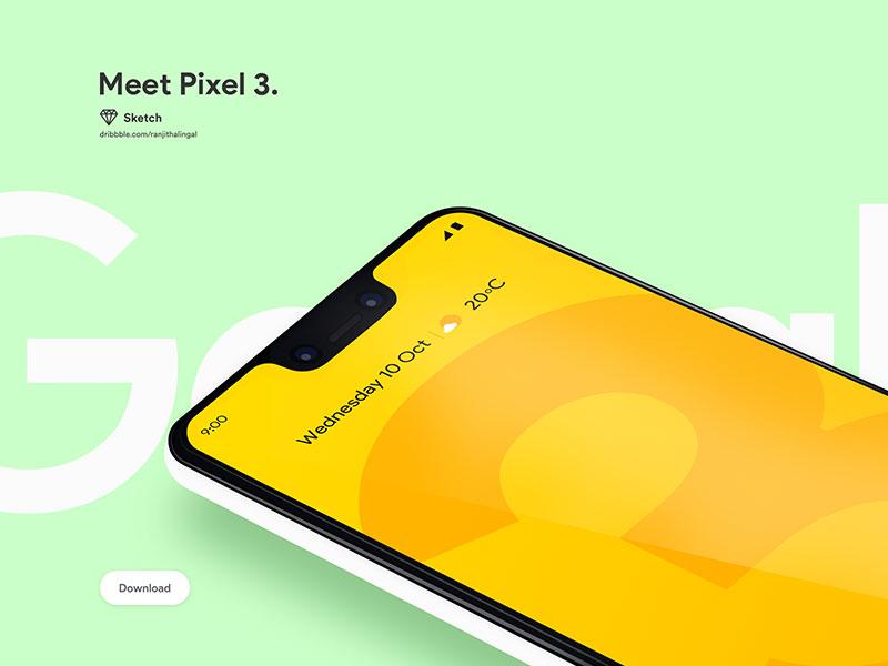 Pixel 3 Mockup App
