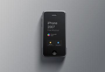 Free Classic IPhone7 Mockup