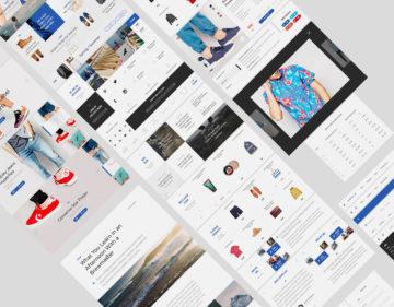 Modern & Stylish  Ecommerce UI Kit