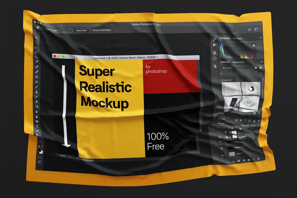Super realistic Free mockUp